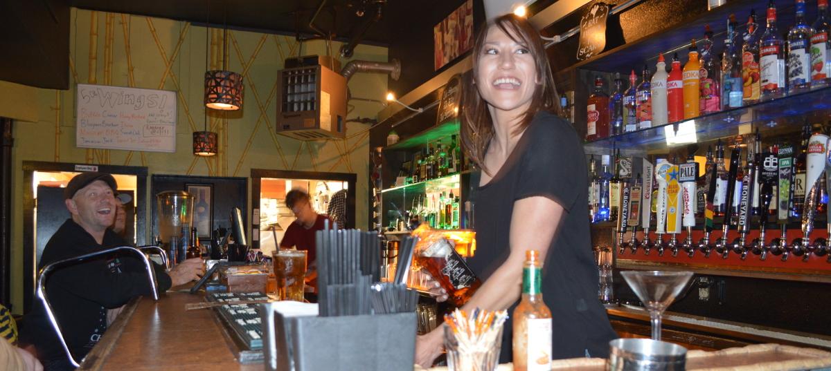 World Class Bartender. World Class Smile