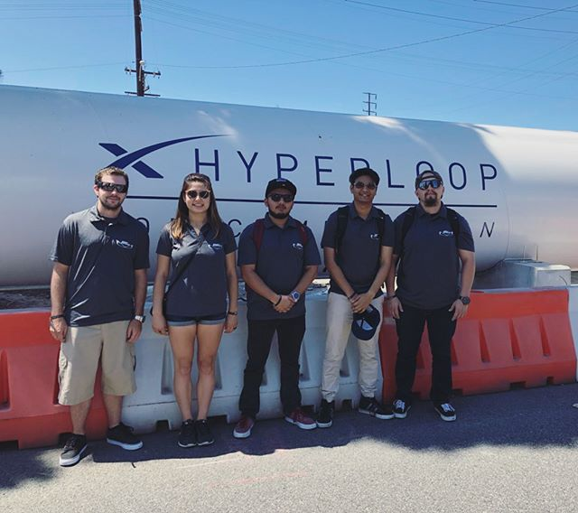 We learned a lot and had a great time today at the SpaceX Hyperloop pod Speed Competition III. Elon Musk confirmed that there will be a Competition IV next year, so we are excited to come back this time next year! 🚄🚀 #sacstate #csus #hornethyperoop #spacex #teambonding #competitionIII #excitedfornextcompetition