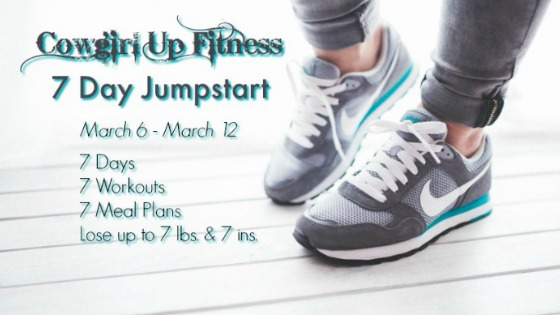 cowgirl up fitness 7 day jumpstart