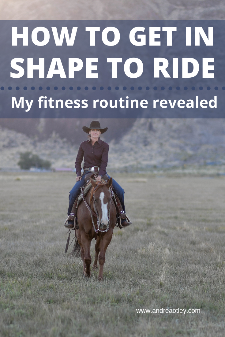 get in shape to ride horses Andrea Otley