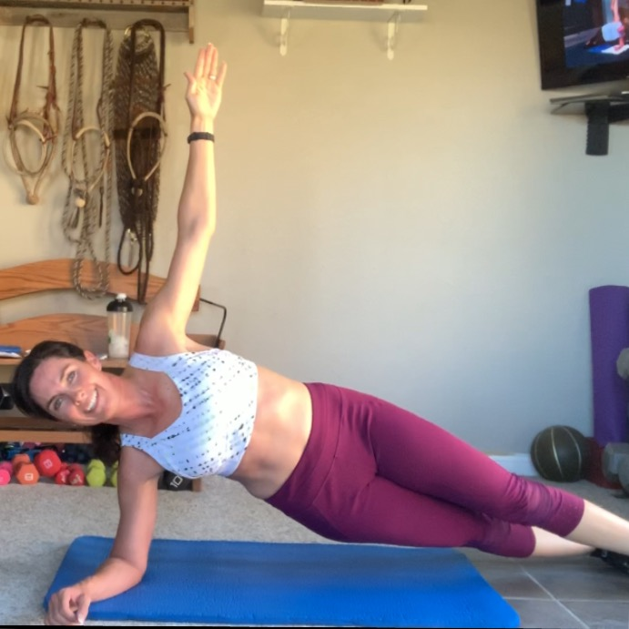 horse rider at home workout exercises