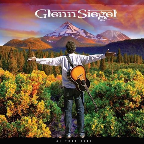 """Happy to announce the release of my tenth album, """"At Your Feet."""" You can check it out tat Www.Glennmusic.net. #Glennmusic #new release #music #shasta #beatles #taylor #gibson"""