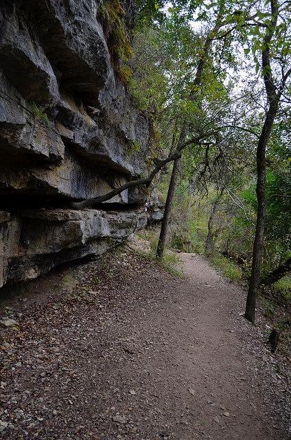 Trail at Barton Creek Greenbelt. Austin, TX