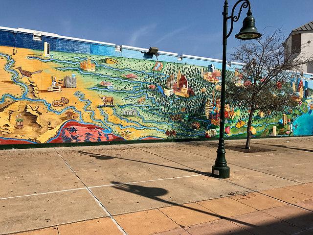 Beautiful art on UT campus. Austin, TX