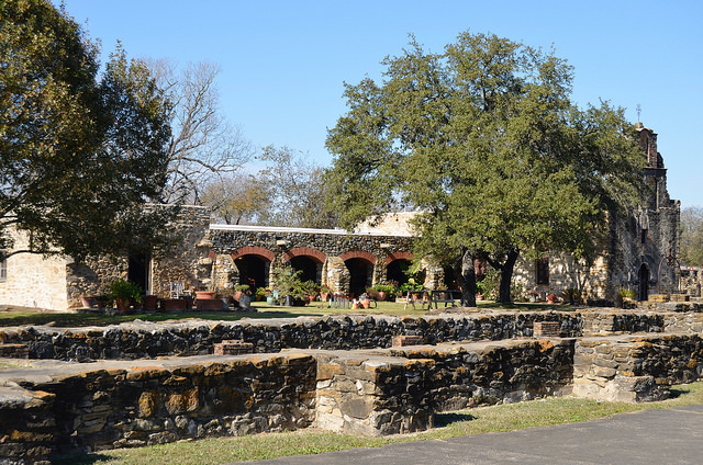 Mission Espada in San Antonio, TX
