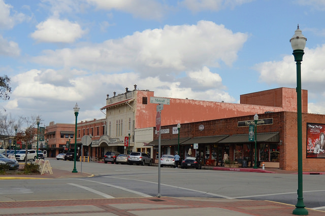 Main Street in Conroe, TX