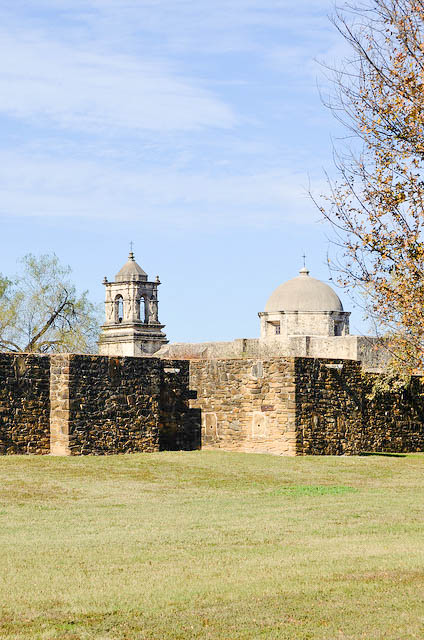 Outer walls at Mission San Jose
