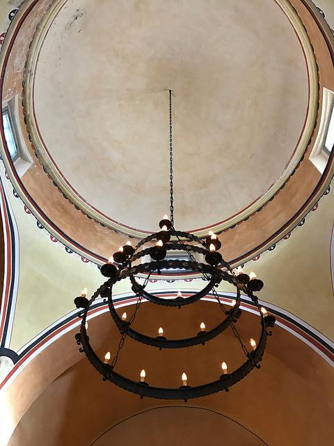 The beautiful church dome