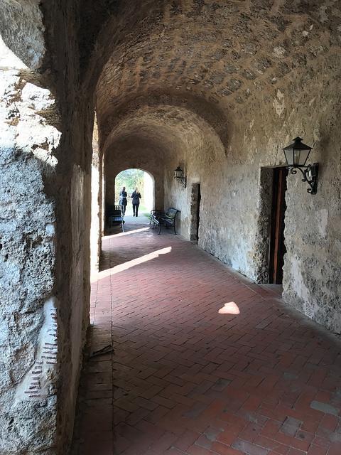 Mission Concepcion cloisters