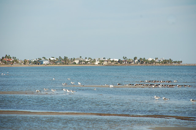 View from the Rockport beach area.