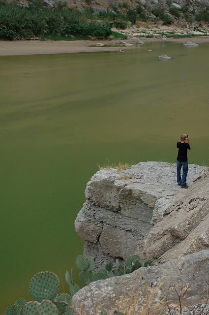 Santa Elena Canyon on the Rio Grande.