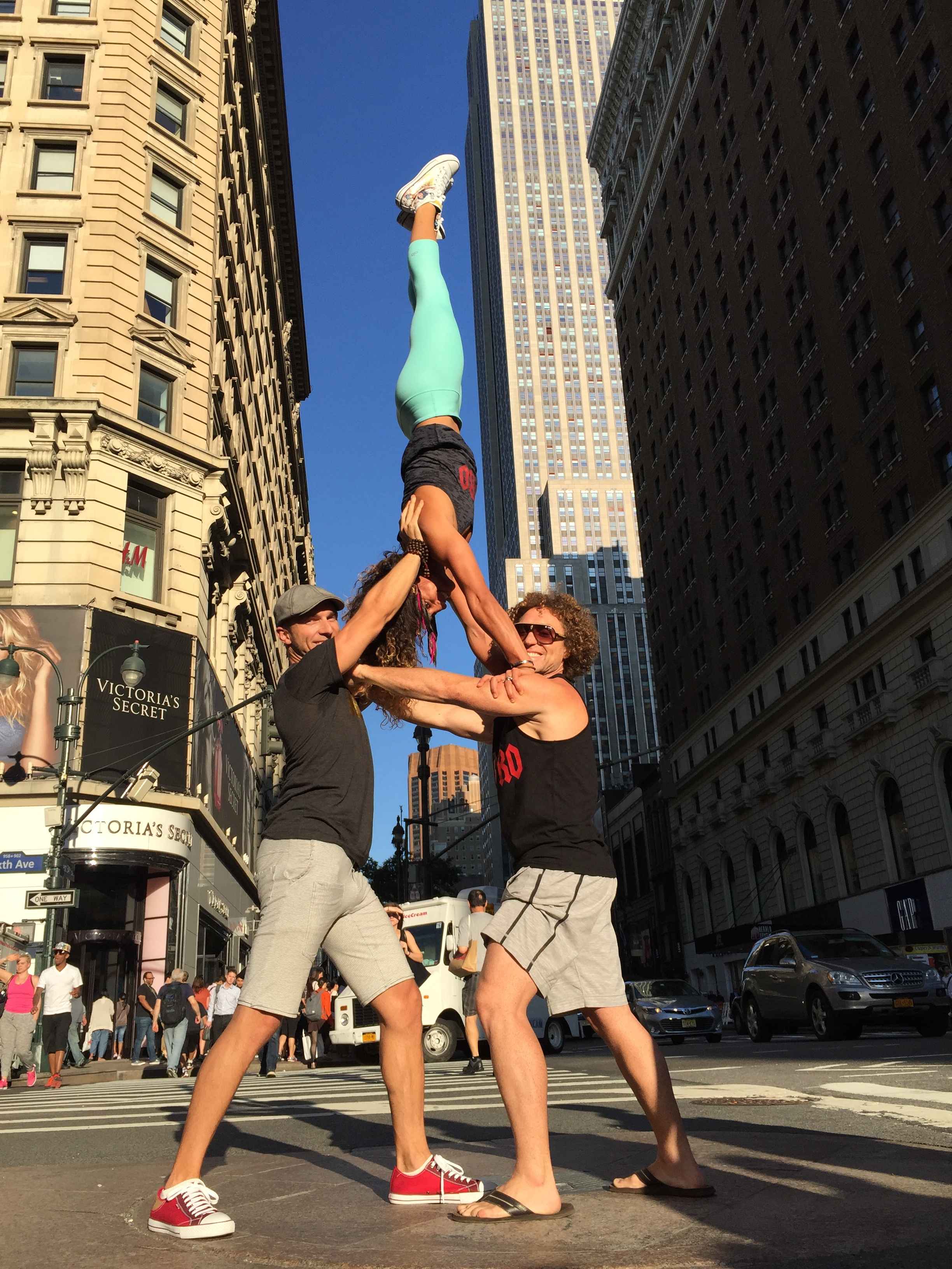 AcroYoga in the Street
