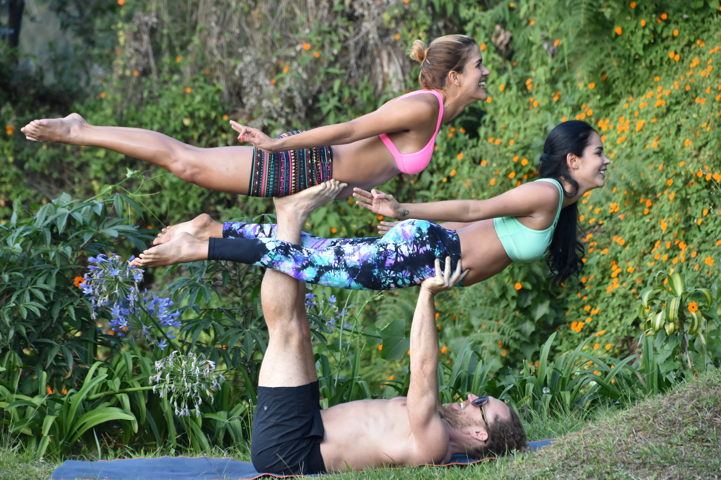 AcroYoga in the Nature 2