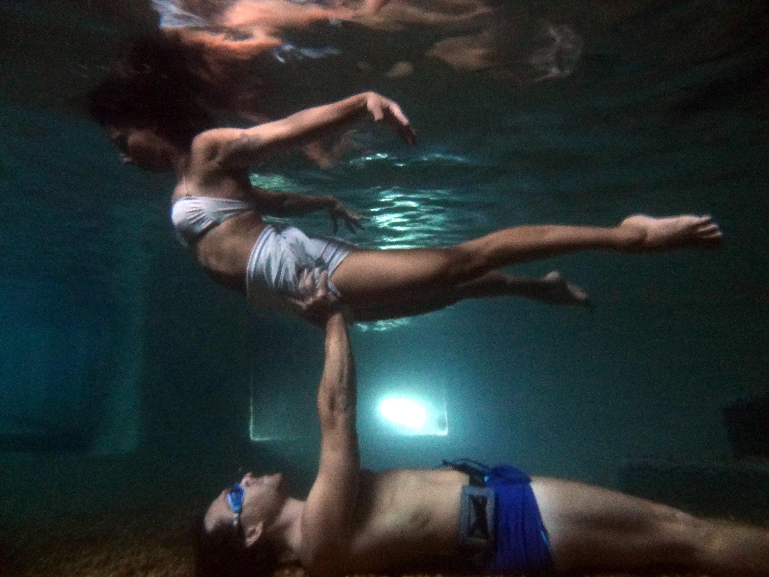 AcroYoga Underwater