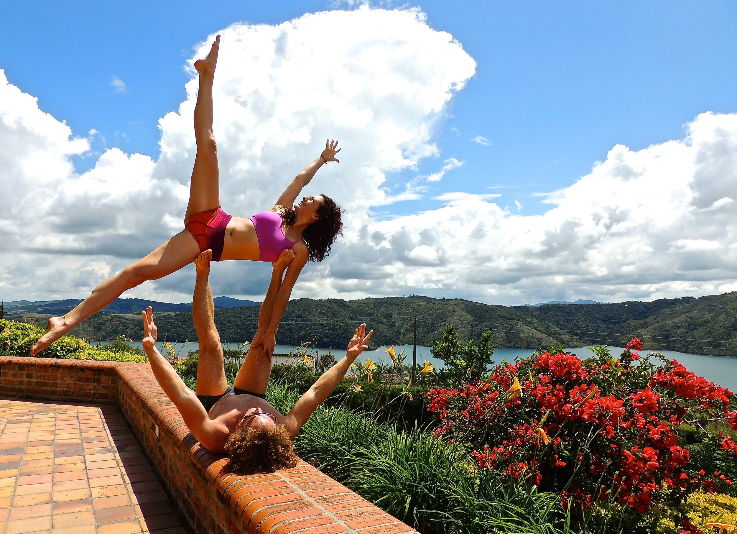 AcroYoga in the Nature 4