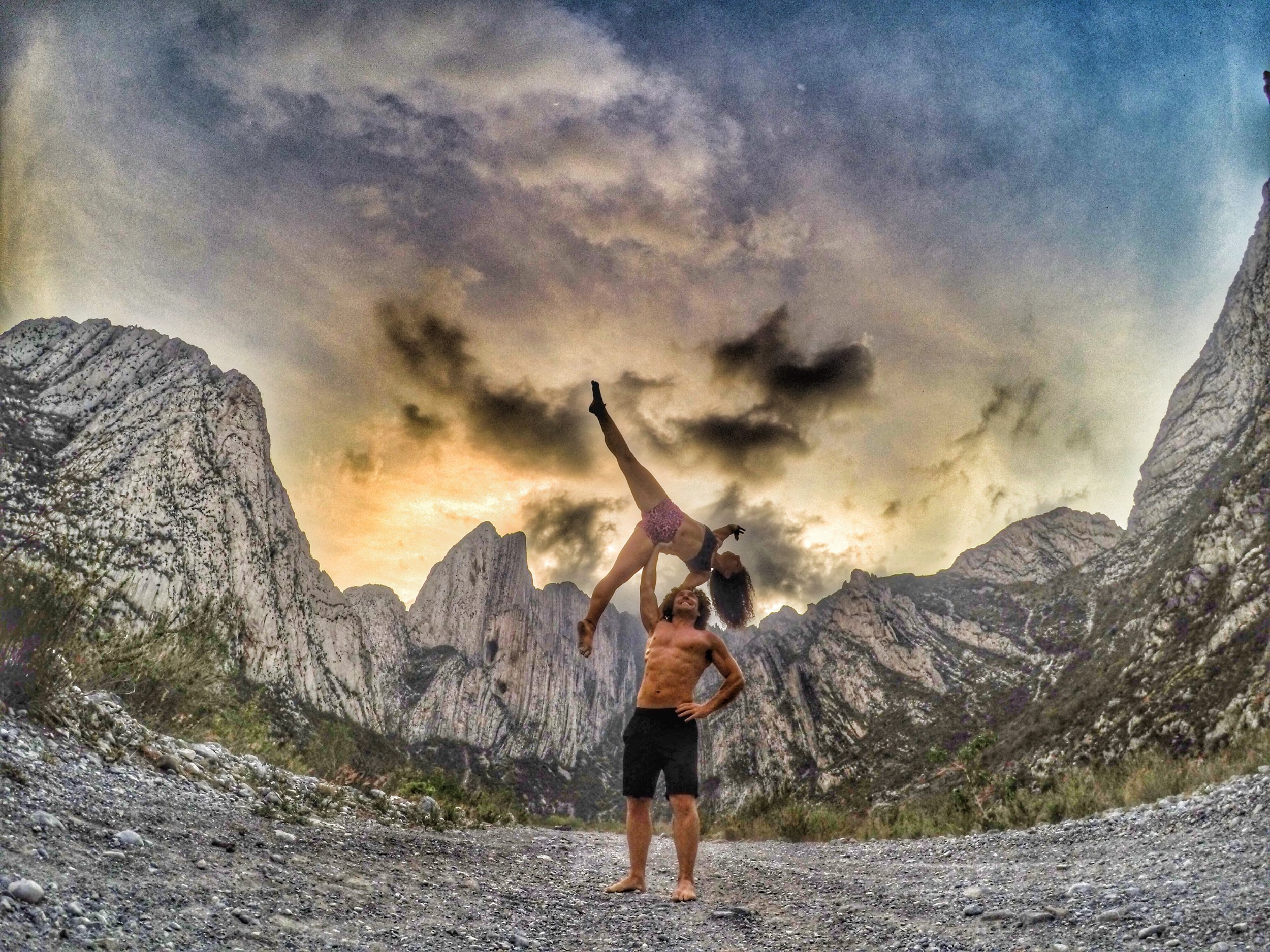 AcroYoga by the Rocky Mountains