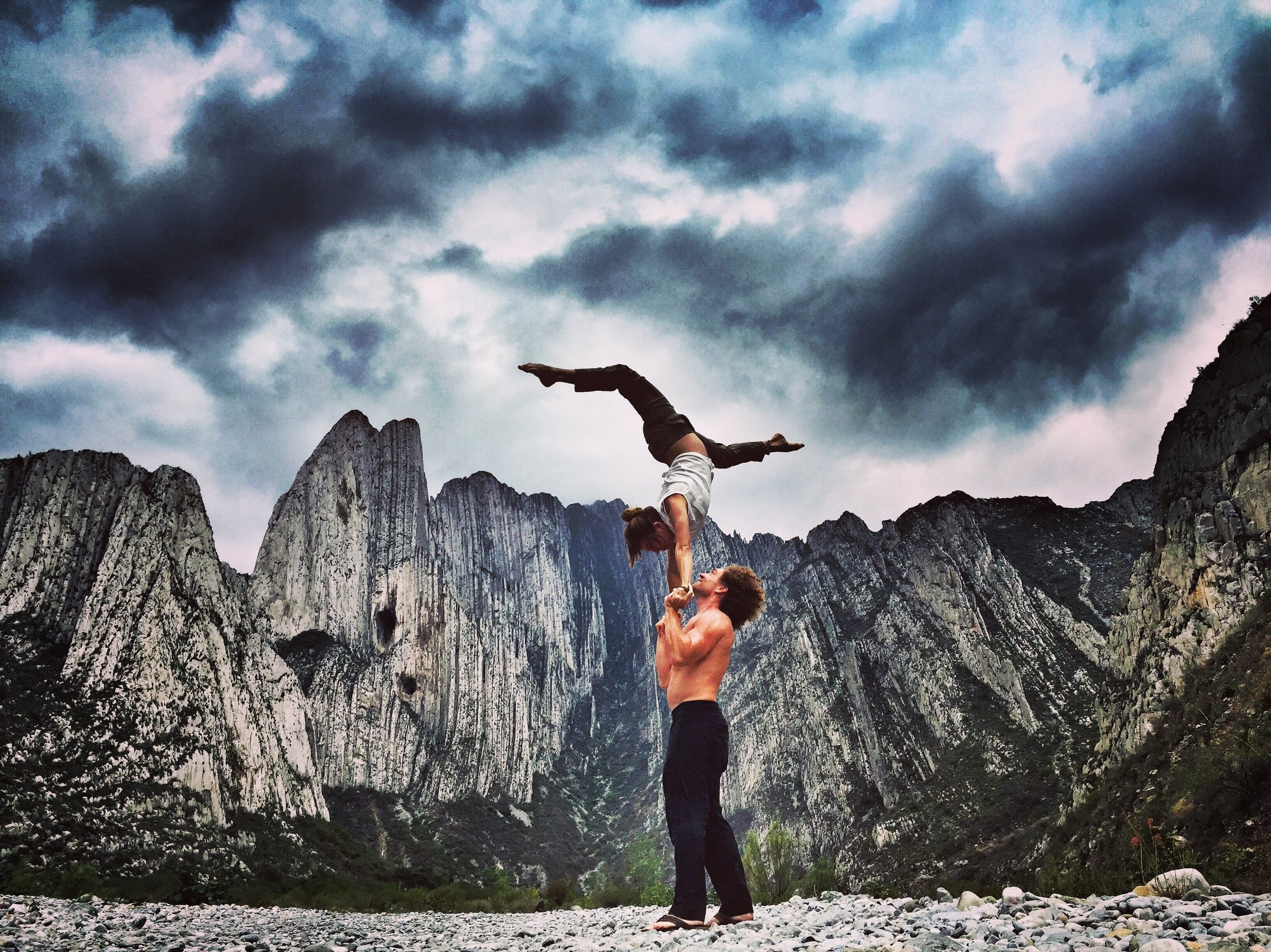 AcroYoga by the Rocky Mountains 4