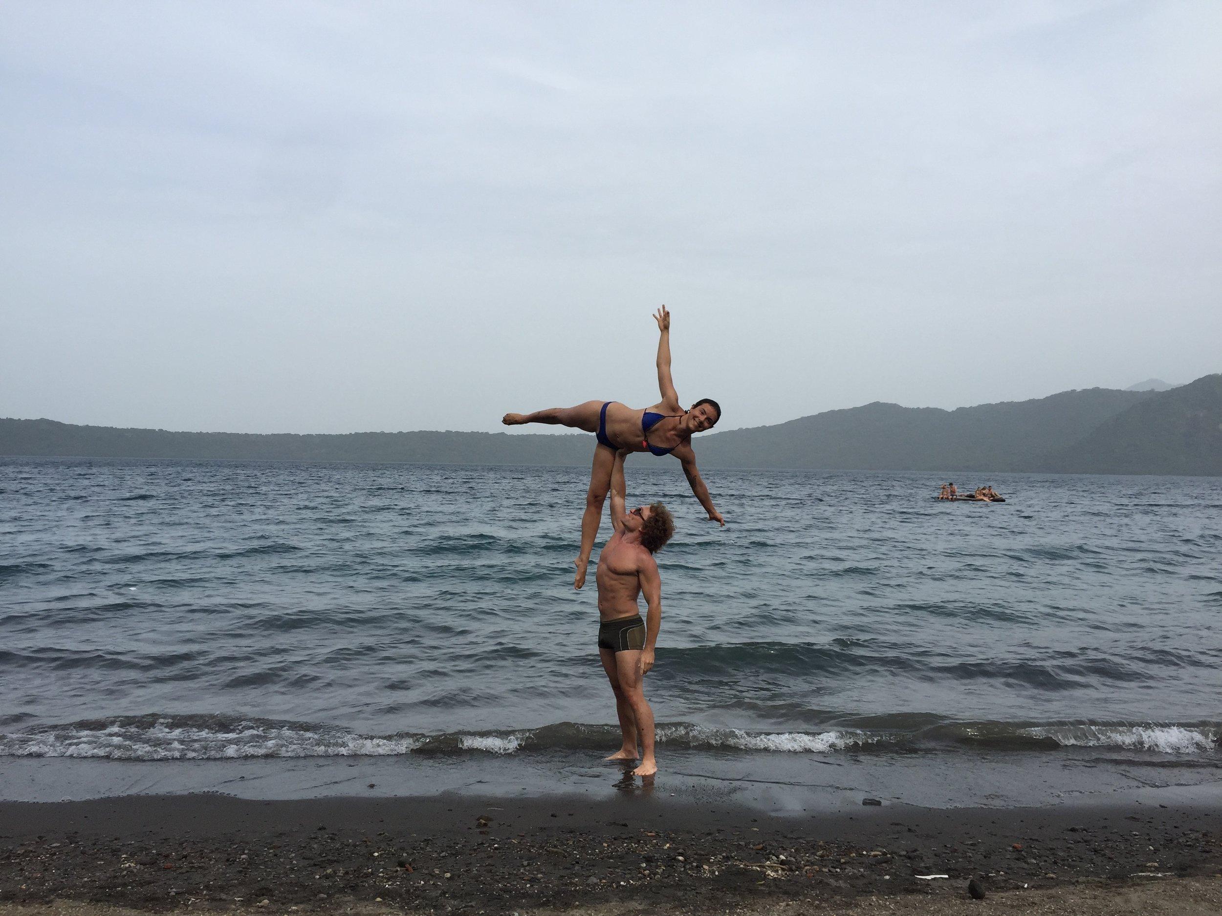AcroYoga by the Ocean 3