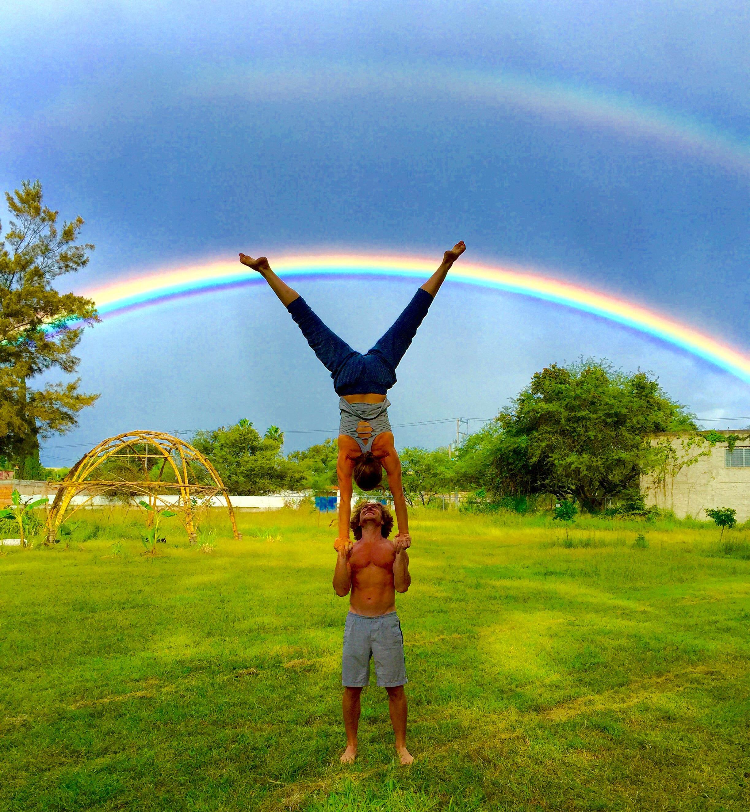 AcroYoga and Rainbows 3