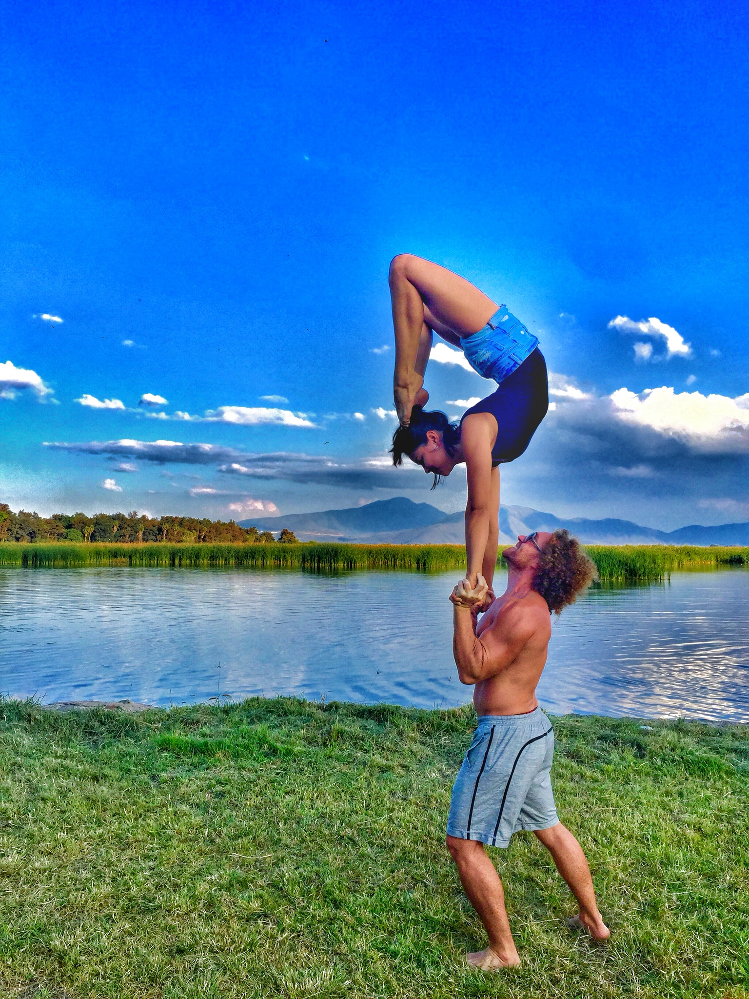 AcroYoga and Nature