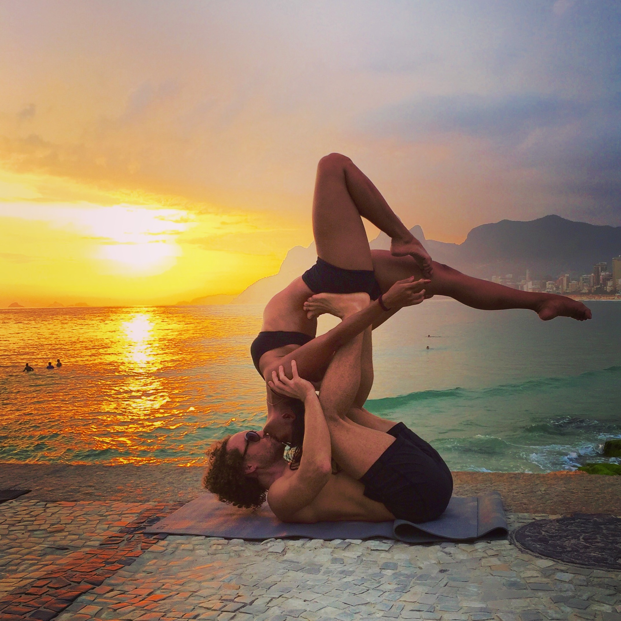 AcroYoga and Sunsets 2