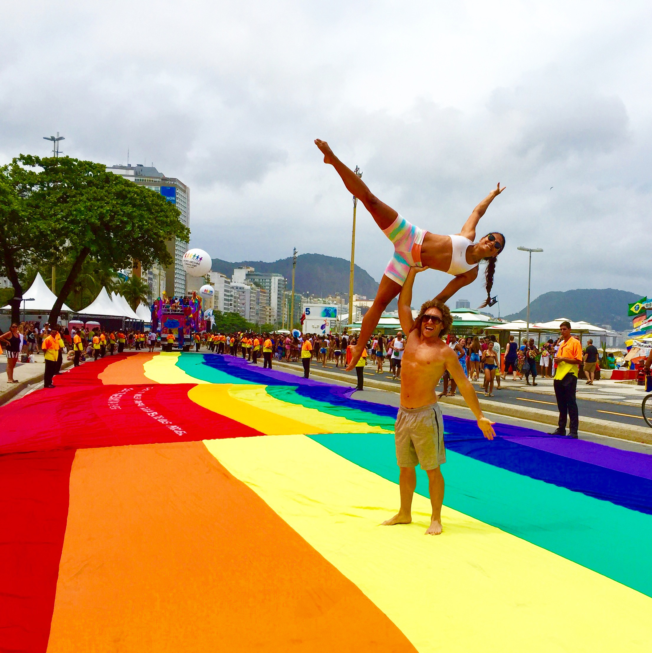 AcroYoga and Pride