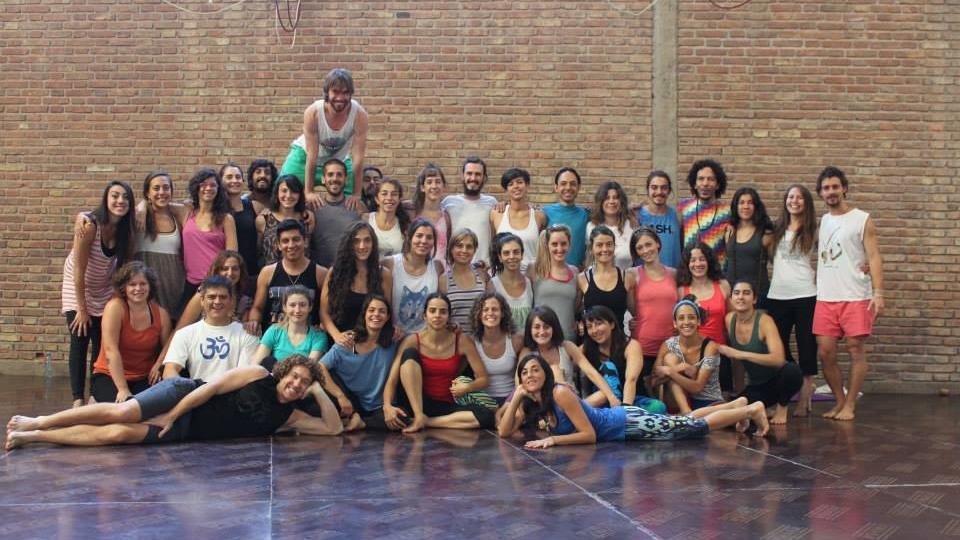 Mendoza Inmersión Elemental de AcroYoga, Argentina - Nov 22-26 2014