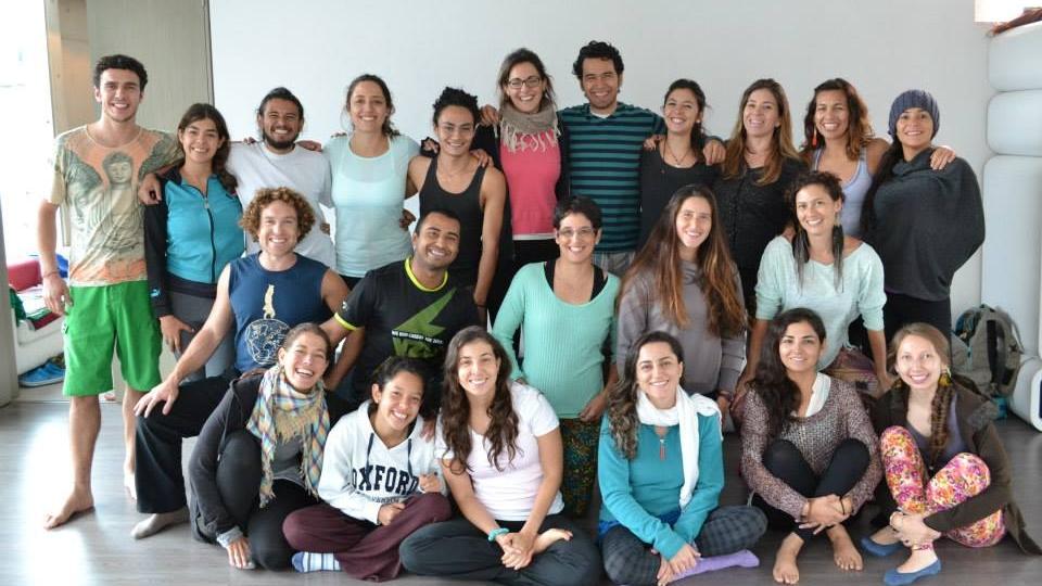 Bogota Elemental AcroYoga Inmersión, Colombia Nov 15-19th 2014
