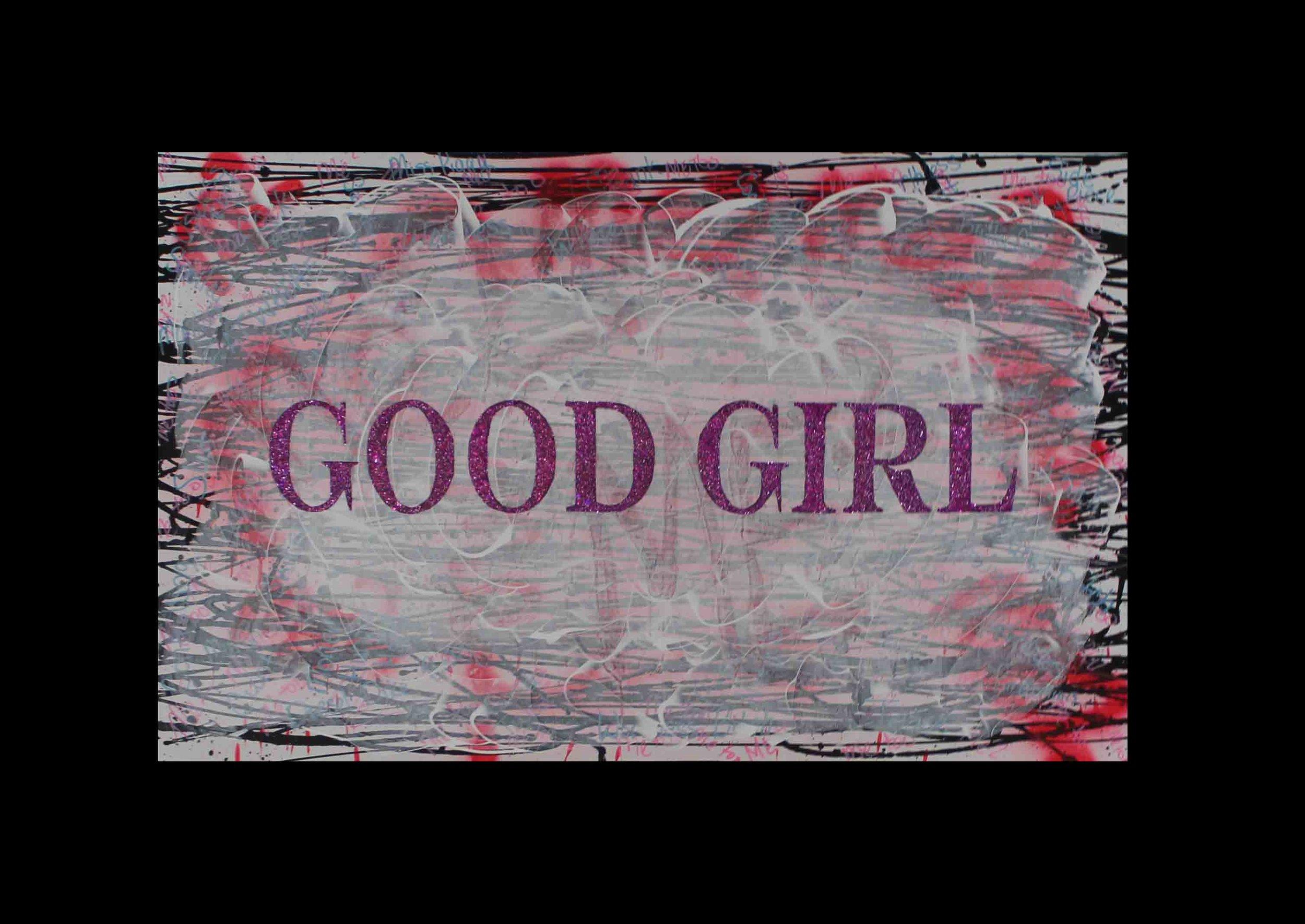 Good Girl  48 x 30