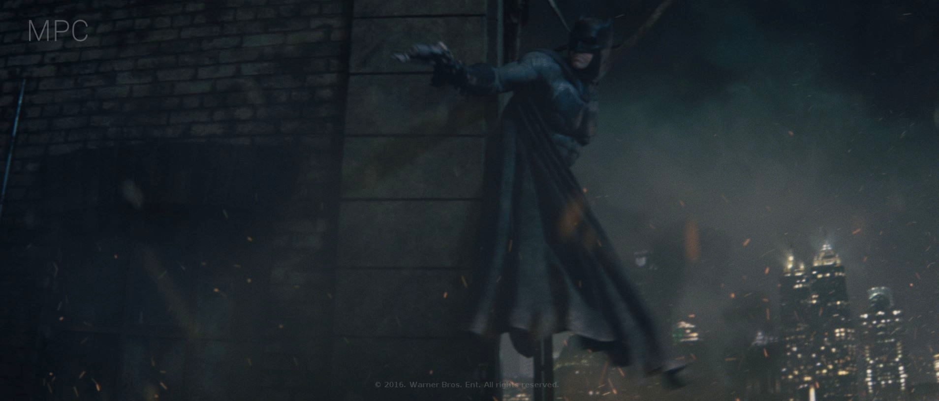 Batman and Building Look Dev. and Shot Lighting (Full CG)