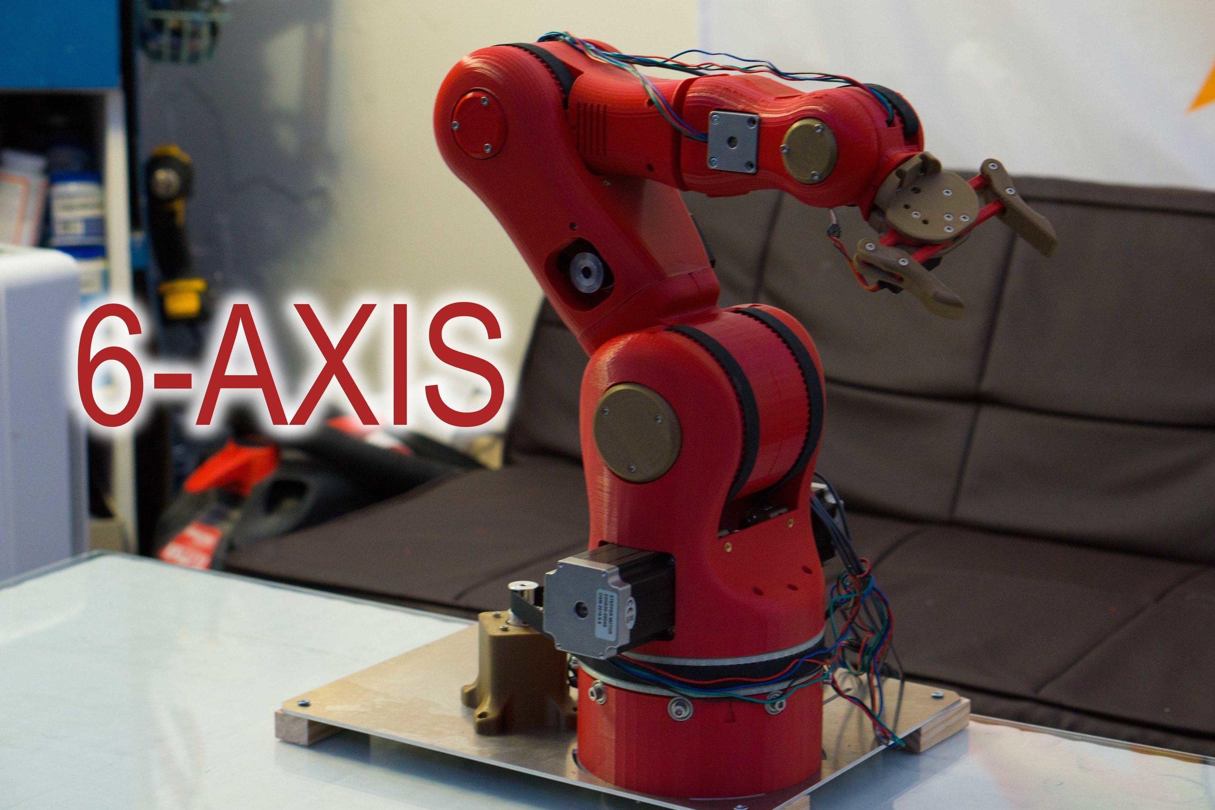 6-Axis Robotic Arm