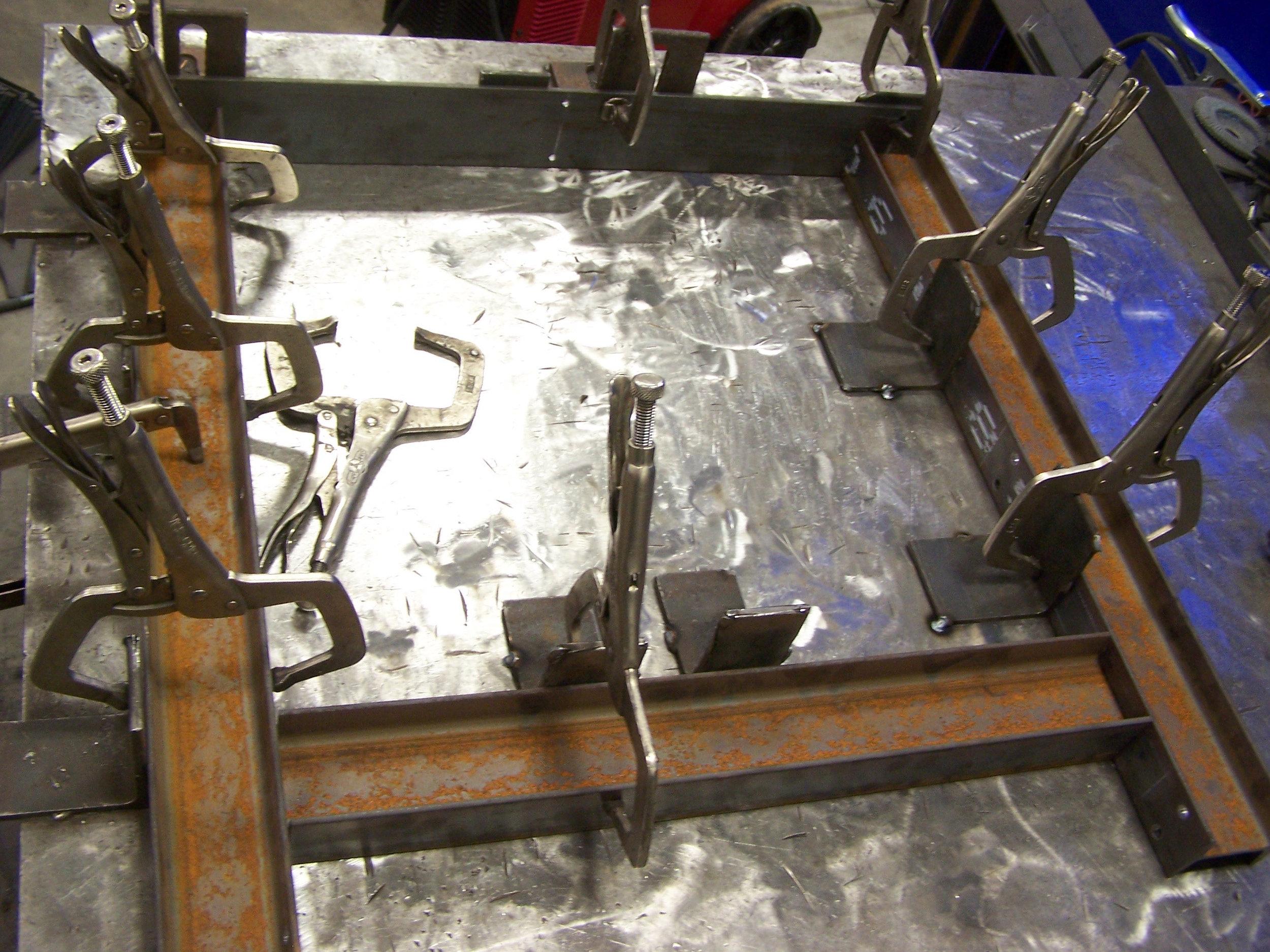 Steel Base - By Modern Ironworks