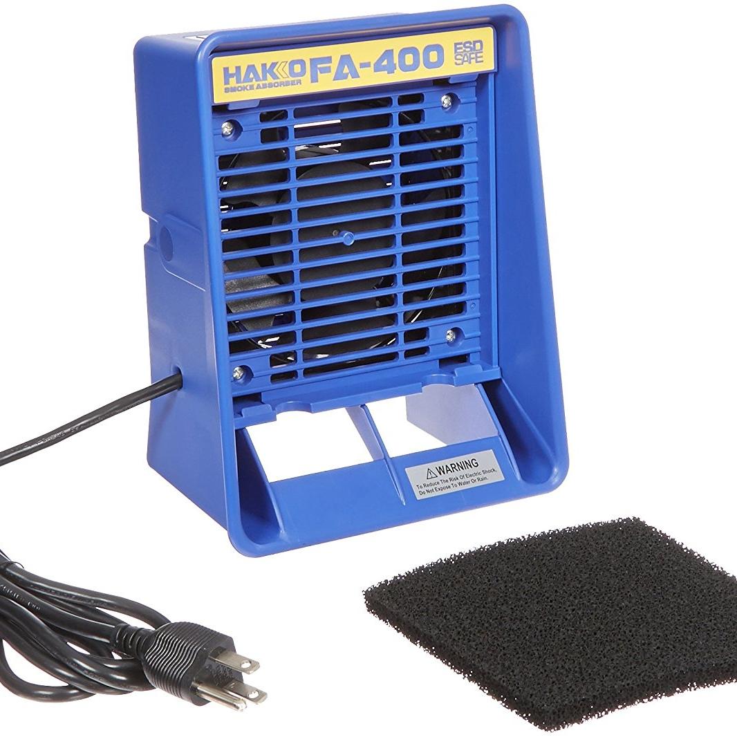 Hakko FA400-04 Bench Top ESD-Safe Smoke Absorber