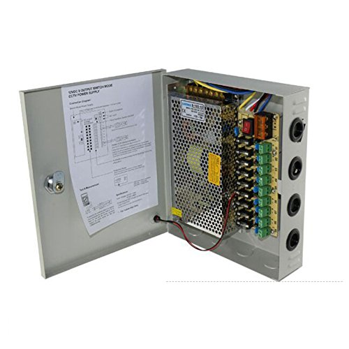 1  2V Power Supply Distribution with Fuses