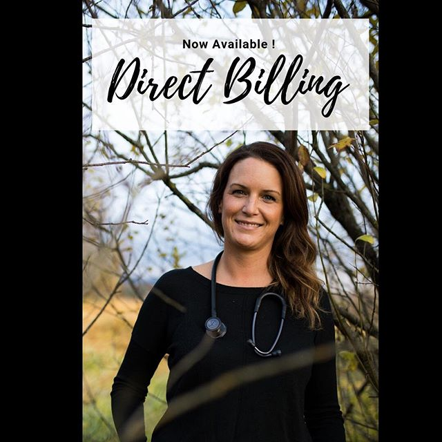 DIRECT BILLING NOW AVAILABLE for most insurance carriers!  To book, or to check out the complete list click on my website: www.drkimniddery.ca  Serving Revelstoke proudly for over a year, and also accepting new patients in Nakusp a couple days per week!