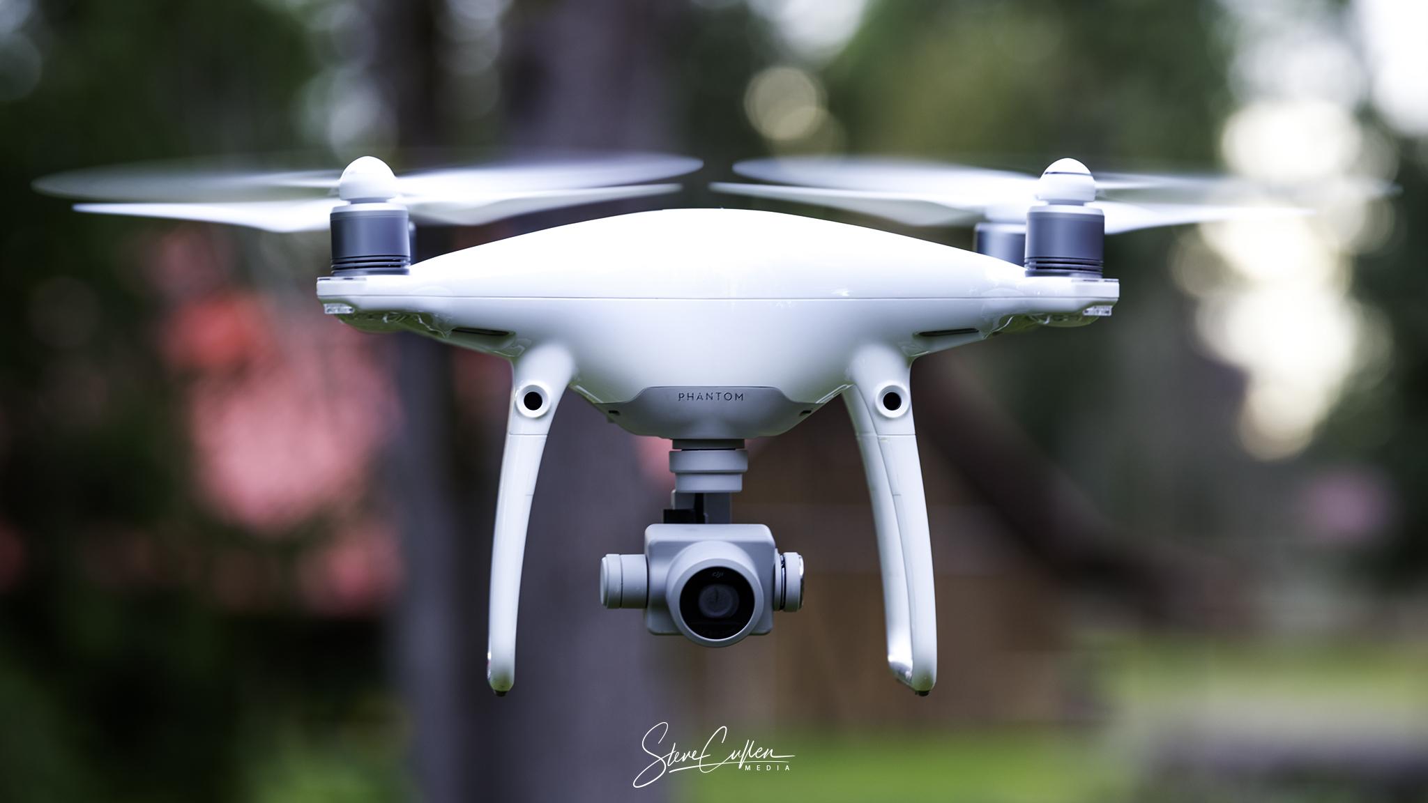 In Flight (Phantom 4 Pro)