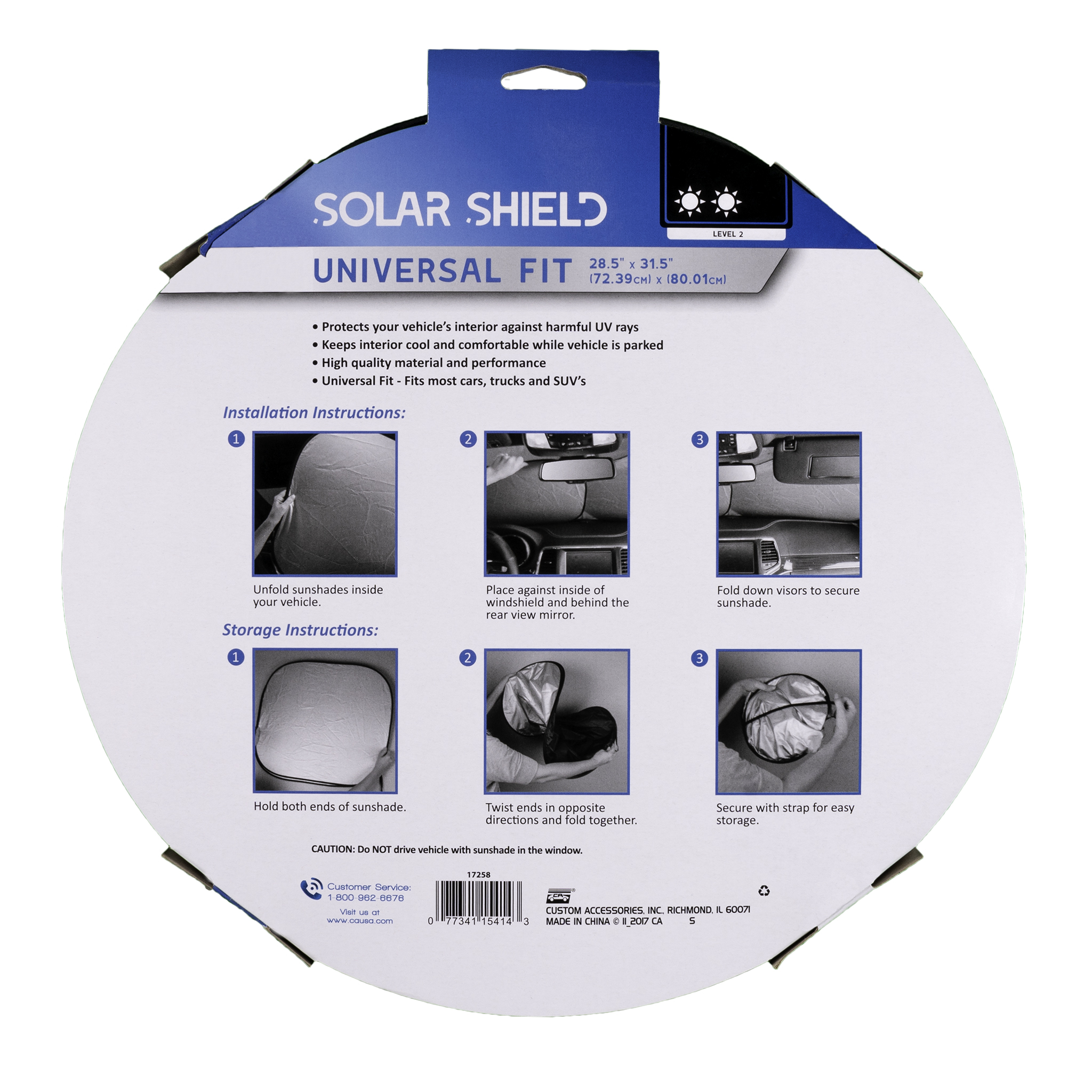 Beach Bum Solar Shield - Pair Packaging Front (White Background)