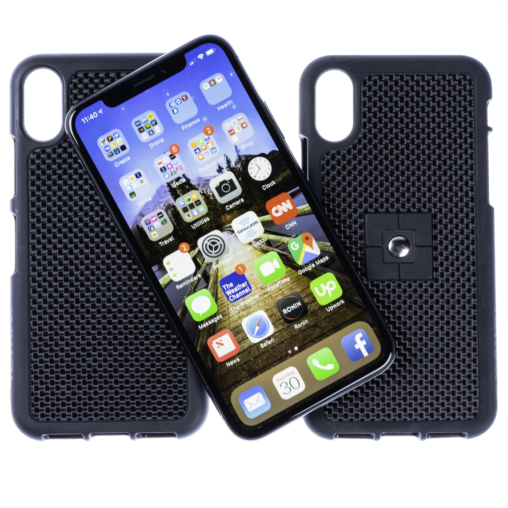 iPhone X Carbon Fibre Case