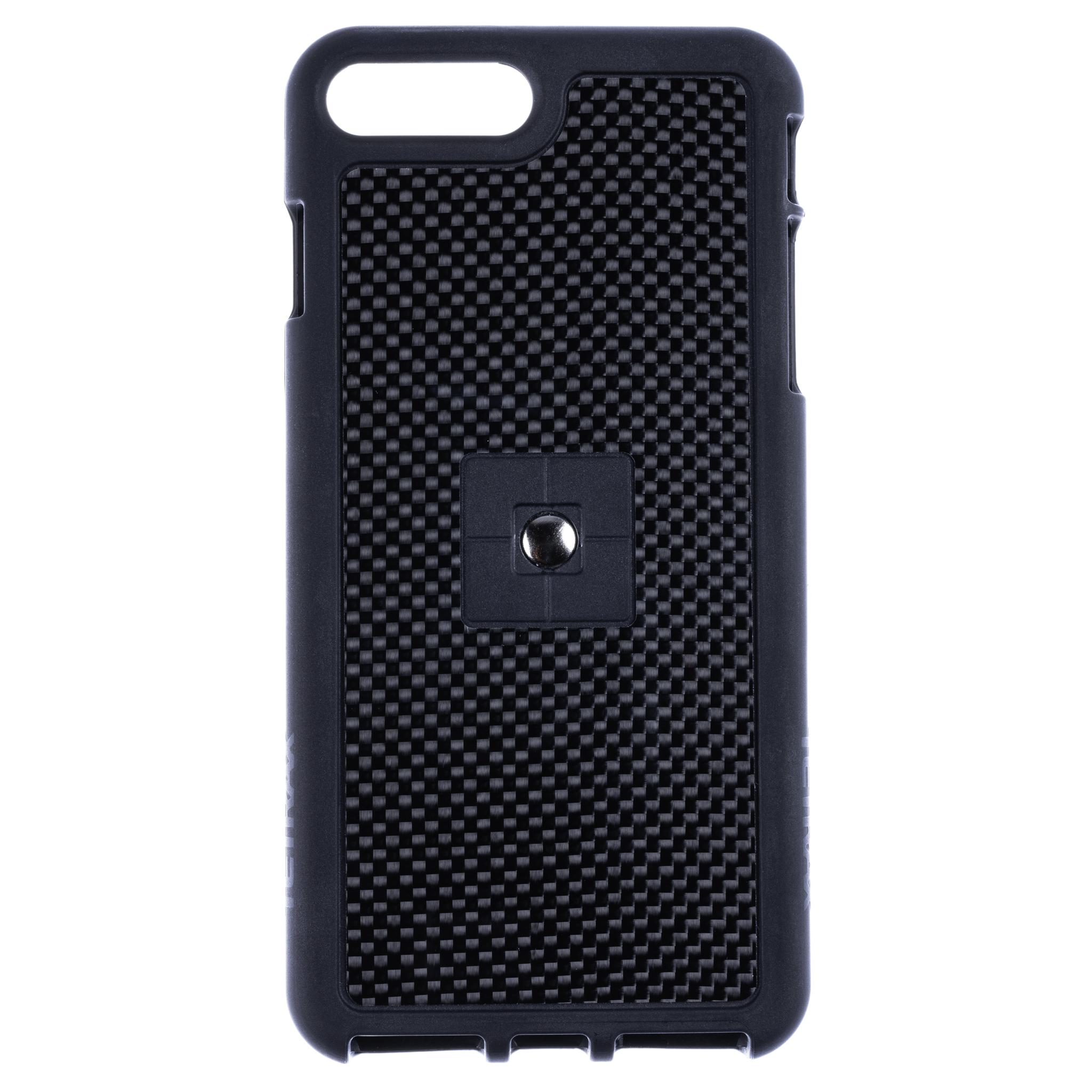 iPhone 8 Plus Carbon Fibre Case with Clip