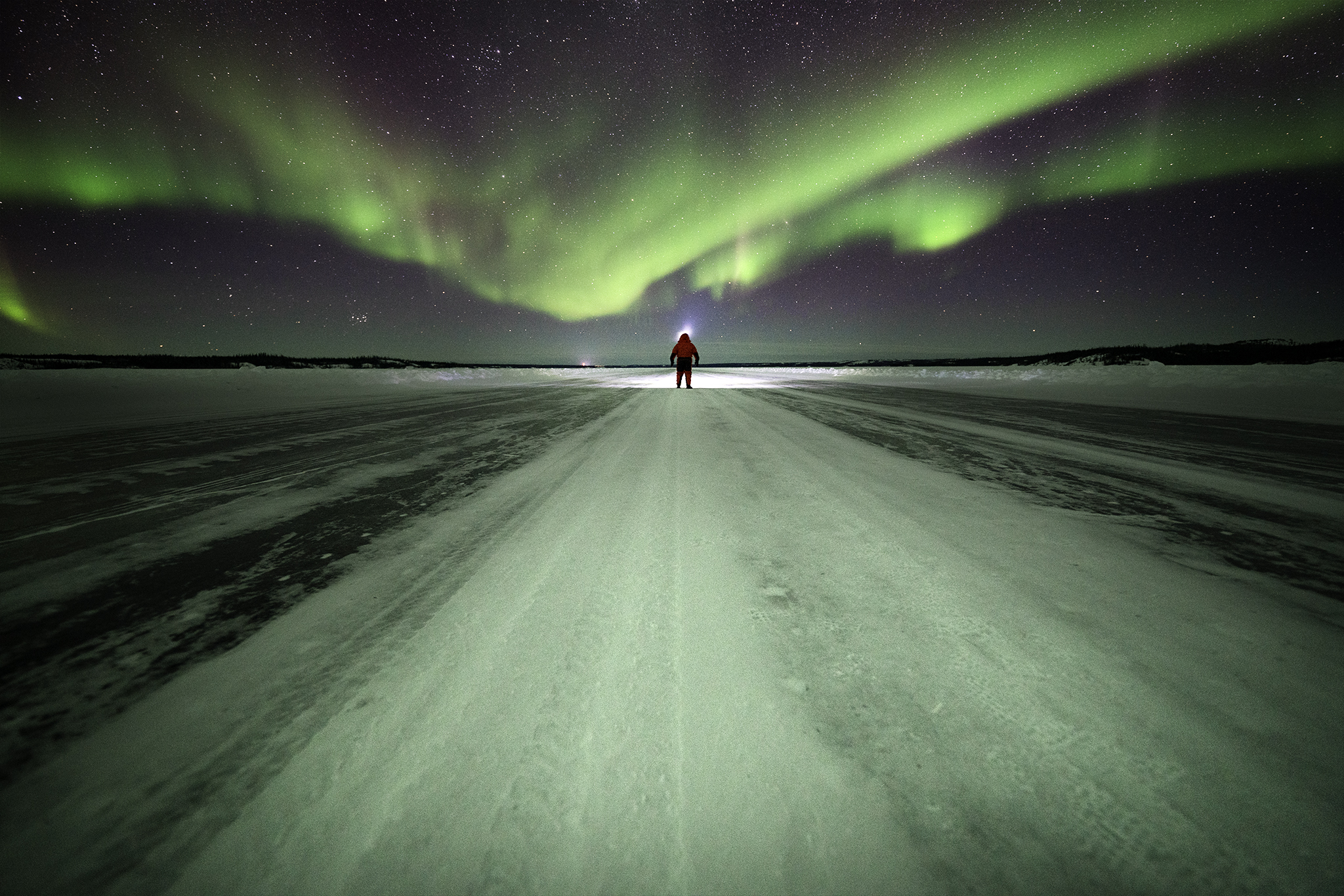 Ice Road Aurora