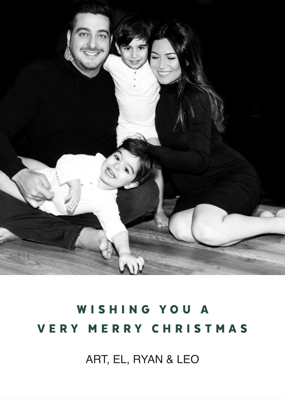 Our 2018 Christmas card!