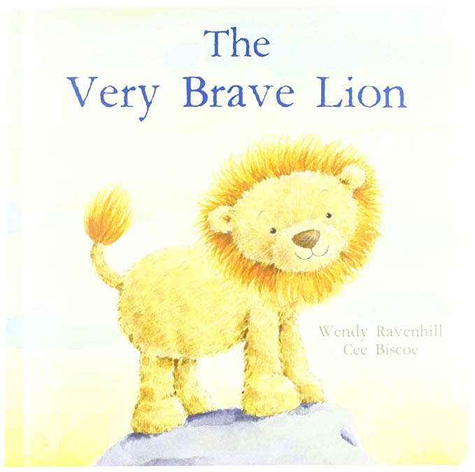 """""""The Very Brave Lion"""" by Wendy Ravenhill and Cee Biscoe is a wonderful Jellycat board book"""