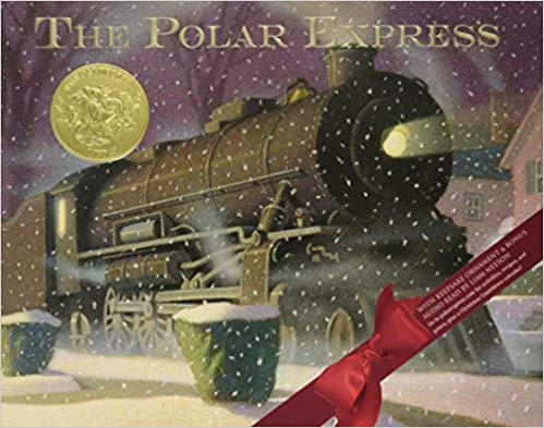 """""""The Polar Express"""" by Chris Van Allsburg is a classic Christmas story"""