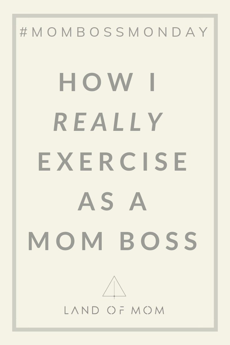 """""""#MomBossMonday Confessions: How I  Really  Exercise as a Mom Boss"""" is a reality check moment with mompreneur El Abad of Land of Mom and Happy Mom Conference. She shares her real postpartum journey and how balancing motherhood and work leaves no time for exercise like she had planned. #landofmom #happymom #happymomtribe #momboss #mompreneur #mombossmonday"""