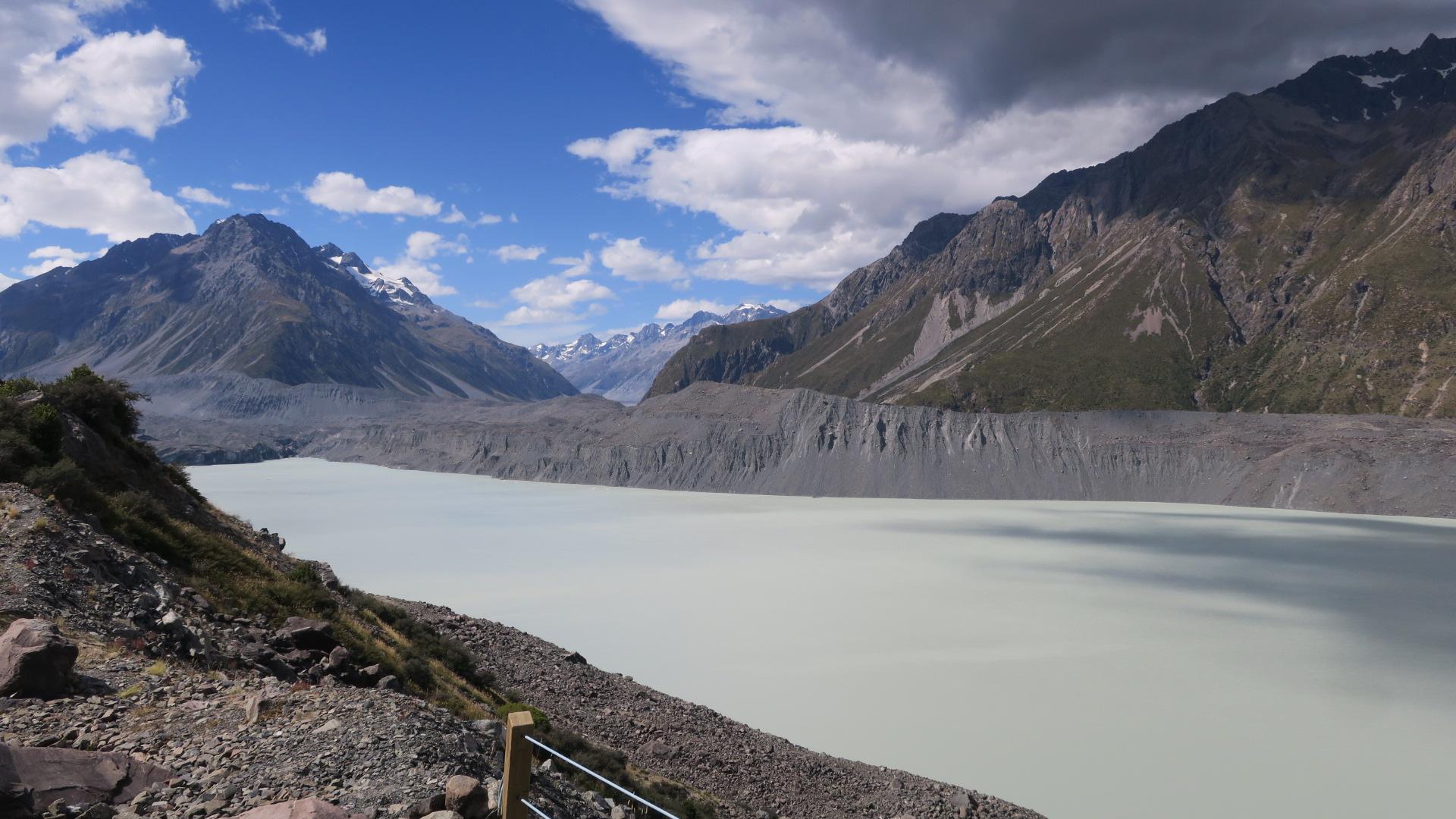 Tasman glacier, big