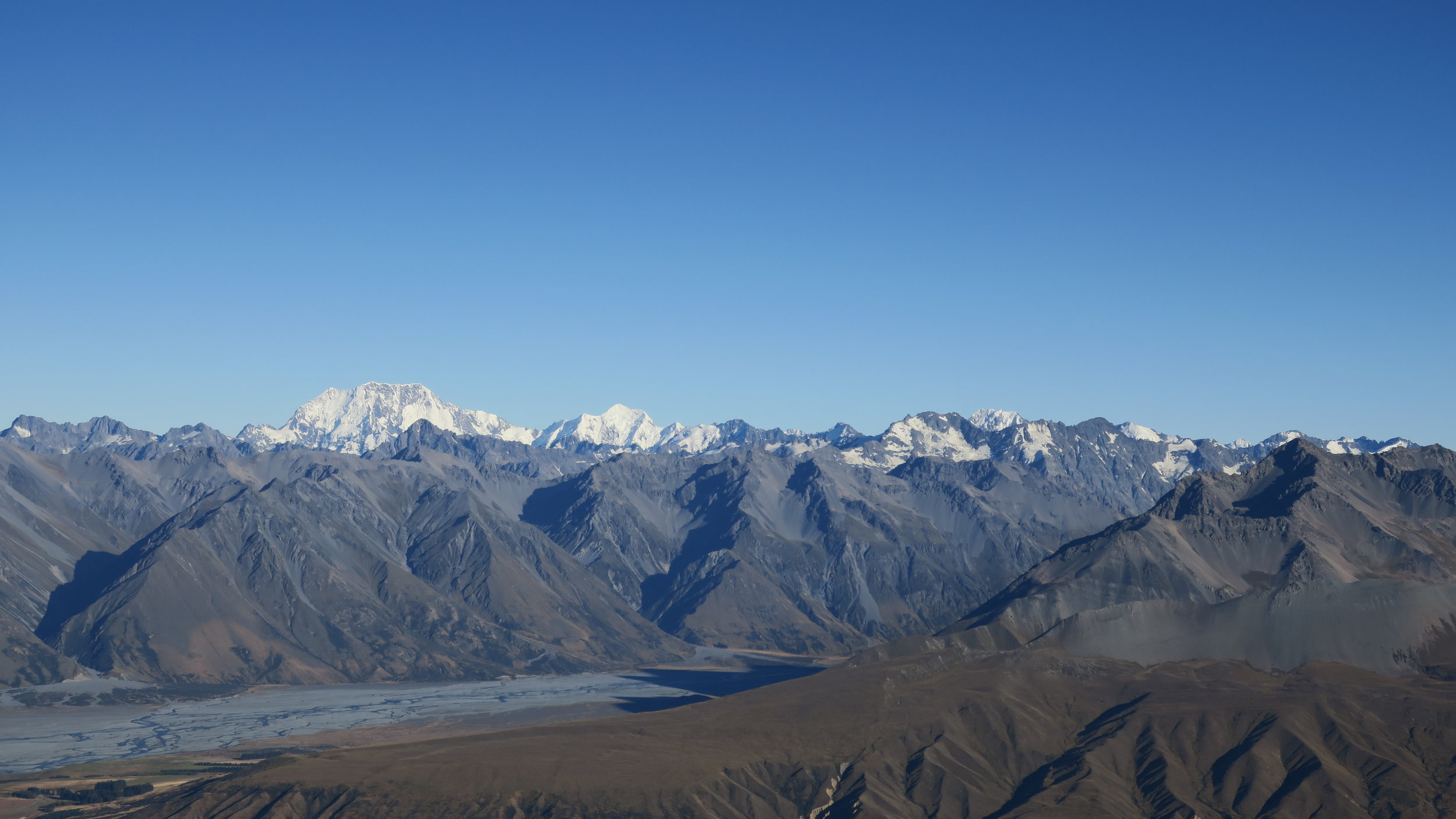 Mount Cook and the Southern alps