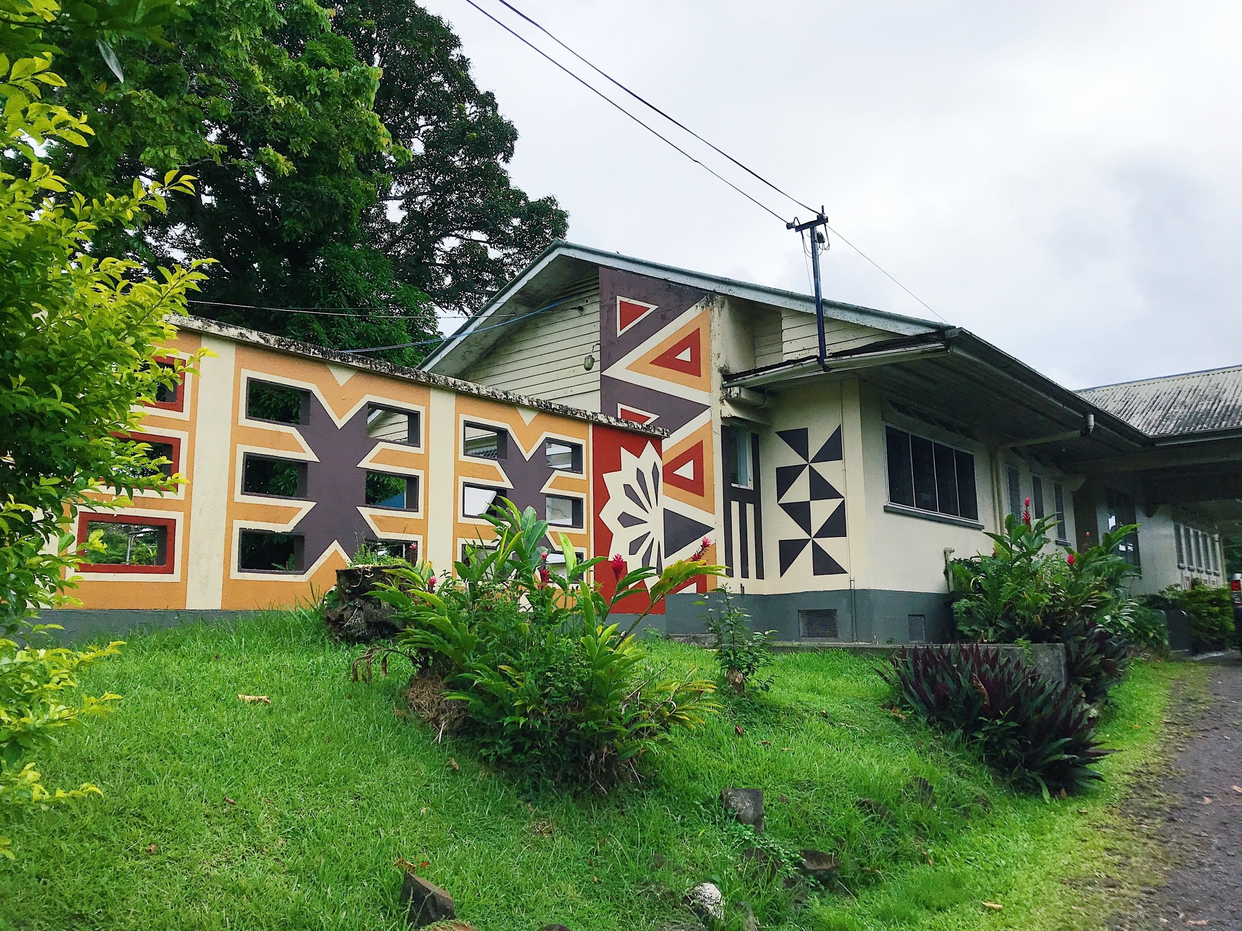 Live and Learn International's Education BUilding in Suva, Fiji
