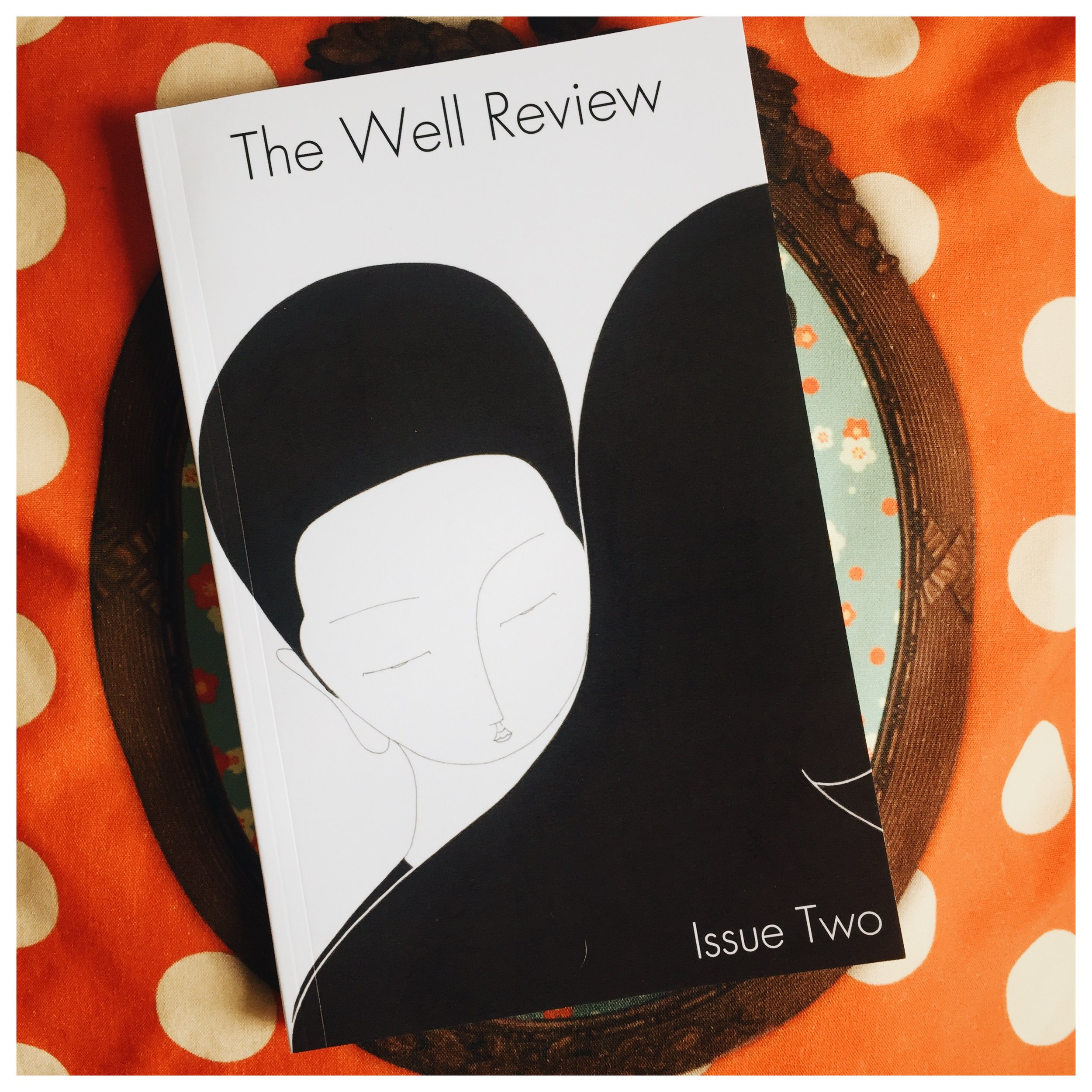 I finally got my hands on the much-anticipated Issue Two of The Well Review. So chuffed to have my name associated with it. I had the great good fortune of spending a week in Bantry with Sarah & Christian, playing a teeny part in its production. It was such labour of love for that brilliant creative pair. There are poems by the likes of Leontia Flynn, Vona Groarke, and Matthew Sweeney. Especially proud to see the talented Gabriella Attems in there. Massive congrats, and hats off!