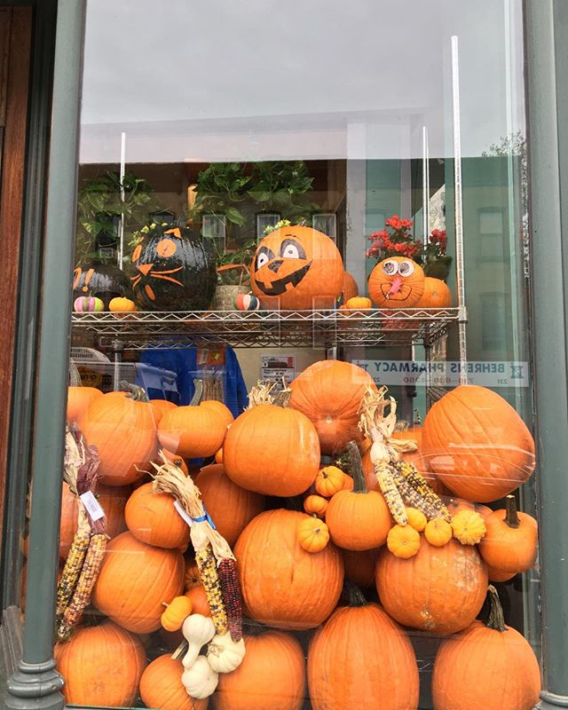 Happy October from Clermont Ave., Brooklyn!