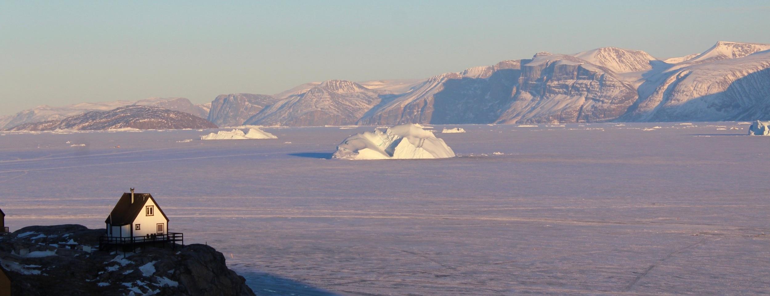 Uummannaq, Greenland, April 2019